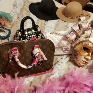 Authentic Louis Vuitton Alma PM Hot Pink